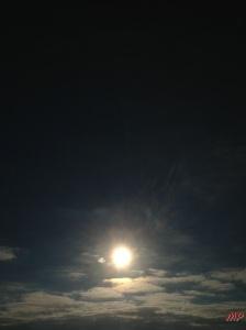 Sonne-Wolken